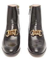 ★GUCCI★Leather ankle boots