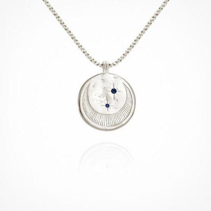 TEMPLE OF THE SUN ネックレス・ペンダント 【TEMPLE OF THE SUN】Celeste Necklace シルバー/月/星/追跡便(2)