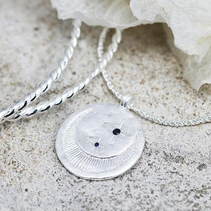 TEMPLE OF THE SUN ネックレス・ペンダント 【TEMPLE OF THE SUN】Celeste Necklace シルバー/月/星/追跡便(4)