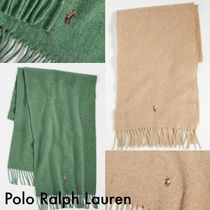 送料込 Polo Ralph Lauren Signature Italian Virgin マフラー