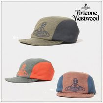 【Vivienne Westwood】キャップ ブバイカラー ロゴ オーブ ORB