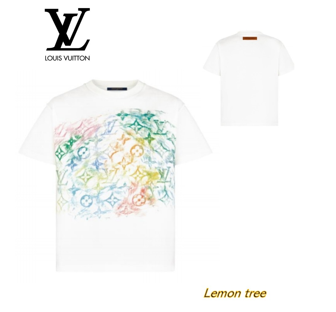 【21SS】Louis Vuitton パステル・モノグラム・Tシャツ (Louis Vuitton/Tシャツ・カットソー) 1A8GUT