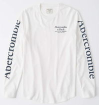Abercrombie & Fitch Long-Sleeve Logo Tee