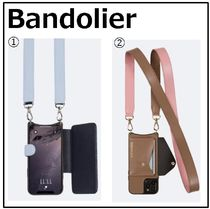 【Bandolier】Angela Smooth Leather Crossbody Bandolier