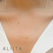 【ALIITA】ROLO NECKLACE 9K YELLOW GOLD チェーン ネックレス