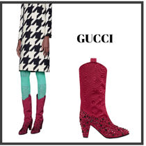★GUCCI★ Women's boot with crystals