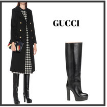 ★GUCCI★ Leather knee-high boots