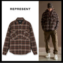 REPRESENT /QUILTED オーバーシャツ【送料関税込】