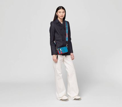 MARC JACOBS ショルダーバッグ・ポシェット 【PEANUTS × MARC JACOBS】THE SNAPSHOT ショルダー バッグ(7)