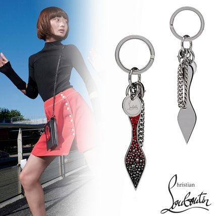 Christian Louboutin 直営店買付 Red Sole Keyring キーホルダー