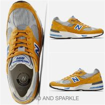 【英国発】New Balance 991 英国製☆Yellow with Blue☆M991YBG