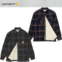 ★20-21FW新作★CARHARTT★AIDEN CHECK SHIRT JAC_2色