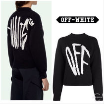 【OFF-WHITE 】Logo Knit Jumper