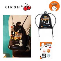 【KIRSH】xキャスパー CASPER SHOES BAG+PIN BUTTON 缶バッジ付