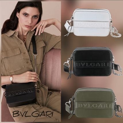 BVLGARI★ BVLGARI LOGO CAMERA BAG 2WAYバッグ 全3色