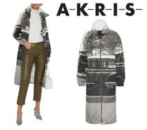 [関税・送料込] AKRIS☆Mafalda printed shell jacket