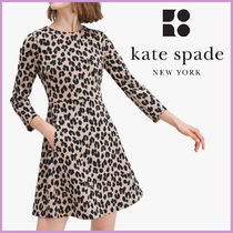 kate spade☆forest feline jacquard dress ワンピース☆送料込