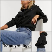 【Tommy Hilfiger】Tommy Jeans 新作 フラッグフーディー/クロ