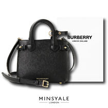 【BURBERRY OUTLET 新品】BURBERRY BANNER BABY ハンドバック