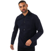 Men's Ted Baker Grapes Cotton Utility Jacket in Blue