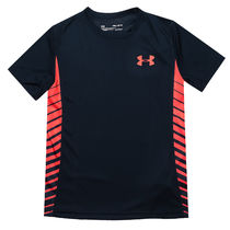 UNDER ARMOUR (アンダーアーマー ) キッズ用トップス Boy's Under Armour Junior Mark 1 T-Shirt in Blue
