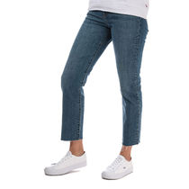 Women's Levis Wedgie Straight Love Triangle Jeans in Blue