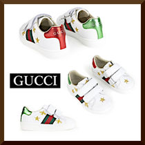 GUCCI☆Ace Mini Me leather trainers☆大人もOK