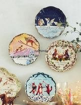 Twelve Days of Christmas Menagerie Dessert Plate 3枚セット