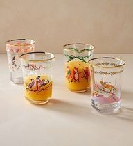 Twelve Days of Christmas Menagerie Juice Glass 1個