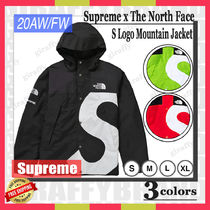 【20AW/FW】SUPREME x The North Face S Logo Mountain Jacket