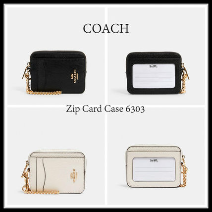 11月新作 COACH★Zip Card Case 6303