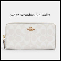 11月新作 COACH★Accordion Zip Wallet 長財布