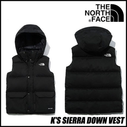 【THE NORTH FACE】 ★新作★ K'S SIERRA DOWN VEST