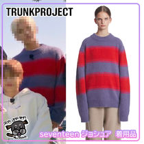 【TrunkProject】Angora Stripe Knit Seventeen ジョシュア着用