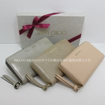 JIMMY CHOO★VIPセール★PIPPA SHIMMER LEATHER★長財布★即発送