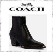 【SALE!】2020秋冬 COACH Pell Bootie コーチ レザー ブーツ