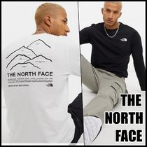 THE NORTH FACE◆バックプリント長袖Tシャツ 2color/関税送料込