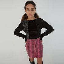 ANOTHER A(アナザーエー) Tシャツ・カットソー 日本未入荷アイテム☆Swing Knit Crop Top/全3色/ANOTHER A
