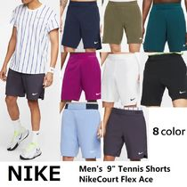 "☆人気☆【NIKE】Men's  9"" Tennis Shorts NikeCourt Flex Ace"