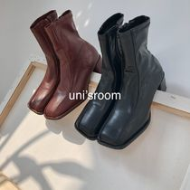 uni's room■2color スクエアトゥストレッチブーツ SS-AW20-07