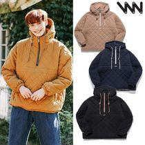 WV PROJECT★Bumby Quilted Anorak Hoodie MJOT7400 4色