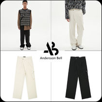 [ANDERSSON BELL]限定販売★CARGO POCKET WIDE LEGGED TROUSERS