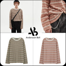 ANDERSSON BELL(アンダースンベル) ニット・セーター [ANDERSSON BELL]★限定販売★UNISEX STRIPE PULLOVER SWEATER