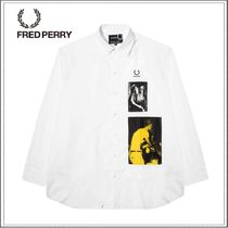 FRED PERRY☆Fred Perry Raf Simons オーバーサイズ シャツ