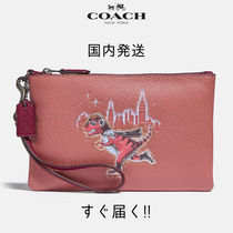 COACH ☆国内発送☆ スモール リストレット レキシー(ピンク)
