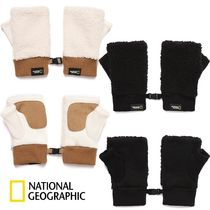 ★NATIONAL GEOGRAPHIC★BOUCLE FINGERLESS GLOVES 2色
