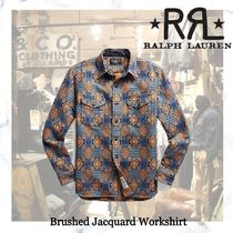 NEW!ロンハーマン取り扱いRRL-Brushed Jacquard Workshirt