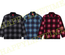 ◆WEEK10◆SUPREME20FW★Shadow Plaid Fleece Shirt