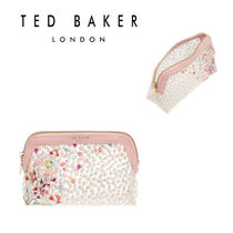 TED BAKER(テッドベーカー) メイクポーチ 送料関税込み★TED BAKER★花柄メイクポーチ