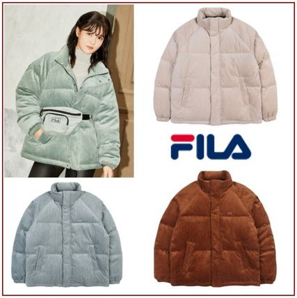 [FILA] CORDUROY DOWN JACKET★優れた保温性★